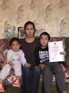 Благотворительный Фонд «Великое Отечество» оказал помощь семье погибшего добровольца